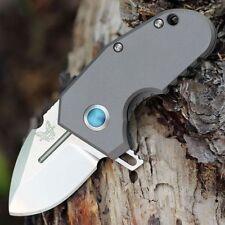 Benchmade B756 Micro Pocket Rocket MPR 20cv Steel Titanium Handle EDC Knife
