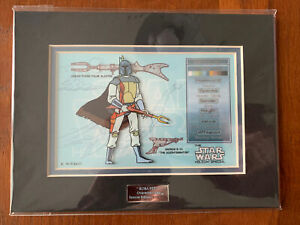 Acme Star Wars Character Key Holiday Special Boba Fett 59/750. Rare Low #