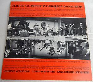 ECHOS VON KAROLINENHOF ULRICH GUMPERT WORKSHOP BAND DDR FREE JAZZ 1980 FMP 0710