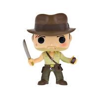 Funko Pop Indiana Jones #200 Metallic ECCC 11cm Collection Model Figure Toy Gift