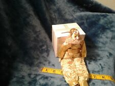 Vintage 10'' porcelain clown doll all decked out in gold and lace $12.50 +Ship