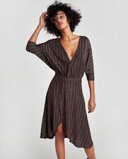 Zara Long Wrap Dresses