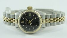 Rolex Oyster Perpetual Date Damen Uhr Stahl&Gold Ref- 6917