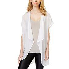 Collection XIIX White Beaded Kimono Angel Wings Wrap Top BNWT $48