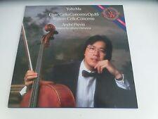 Yo-Yo Ma Elgar Cello Concerto Walton Cello Concerto Digital CBS Masterworks LP