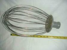 "Hobart Mixer Attachment Wisk Wire Whip fits Hobart Mixers 16"" long resturant"