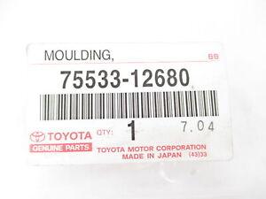 Genuine OEM Toyota Scion 75533-12680 Windshield Reveal Molding Trim 2008-2015 xB