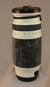 Phoenix AF Zoom Lens 100-400mm 1:4.5 – 6.7 for Canon Mount with Hood and Cap