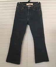 GAP Womens Jeans Flare Stretch Dark Blue Size 26 (2R)