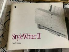 StyleWriter II User's Guide / Reference Manual 1992 Apple Computer