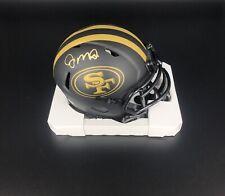 Joe Montana Signed Autographed 49ers Eclipse Mini Helmet Beckett BAS NFL