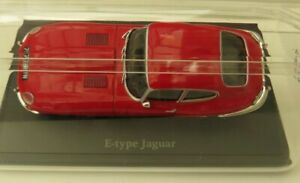NOREV JAGUAR E TYPE COUPE diecast model road car Red body