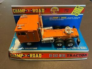 Vintage Champ Of The Road Kenworth K123 Cabover Diecast Truck 1/50