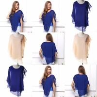 O Neck Pullover Womens Blouse Casual Fashion Jumper V Neck T-Shirt Tops Solid
