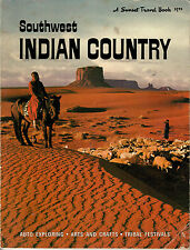 Sunset Travel Book Southwest Indian Country, 1974