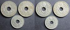 5 et 10 Centimes LINDAUER 1938 et 1939, MAILLECHORT