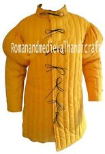 Century Yellow Gambeson Full Sleeve with Padded Shoulders