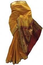 ASB3615 Mustard and Green Art Silk Saree Indian Art Silk Saree Curtain Fabric