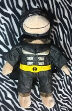 Build a Bear brown monkey with batman outfit plush stuffed Dark Knight Costume