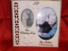 50TH WEDDING ANNIVERSARY FRAME BY RUSS