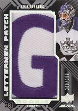 08-09 UD Black LETTERMEN PATCH xx/399 Made! Erik ERSBERG #89 - Kings RC