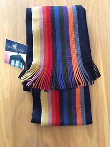 DR DOCTOR WHO  Lovarzi 13TH DOCTOR Rainbow Scarf BBC Official 2018