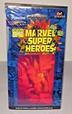 Marvel Super Heroes WOLVERINE Krypton Laser Hologram Phantagram RARE 3D Sticker