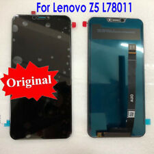 """NEW LENOVO Z5 6.2"""" IPS LCD DISPLAY+TOUCH SCREEN DIGITIZER ASSEMBLY BLACK OEM"""