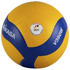 Mikasa V390W Volleyball Training Spiel Neu gelb/blau Gr. 5