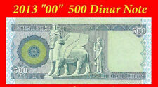 500 Iraqi Dinar (1 X 500)  2013  1 Free! With every 5 Purchased