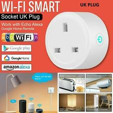 Smart WiFi Plug Socket Outlet Switch 16A APP Voice Control Amazon Google Home UK