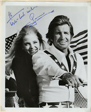 George Hamilton Actor Signed Autographed B&W Photo as Evel Knievel, Melchior
