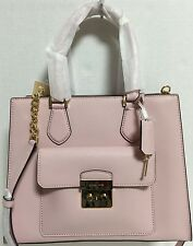NEW Michael Kors Medium Bridgette Blossom Pink Saffiano Leather Tote Handbag