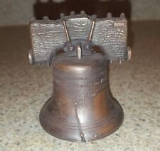 Liberty Bell miniature metal replica- with working bell