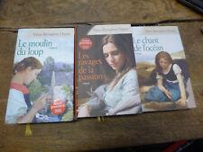 lot de 3 livres marie Bernadette Dupuy : le chant de l'océan - le moulin du loup