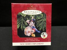 New listing 1997 Hallmark Keepsake Ornament Bandleader Mickey Mouse Mickey's Holiday Parade