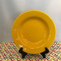Fiestaware Daffodil Rimmed Soup Bowl Fiesta Yellow Soup Bowl