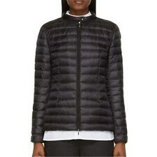"Moncler ""Damas"" Quilted Nylon Down Feather Puffer Parka Jacket Coat Black 3 LRG"