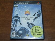 Salt Lake 2002 Sony PlayStation 2 Complete W/Manual Tested