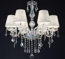 XL cristallo vetro classico lampadario sospensione plafoniera soffitto luce Ø60