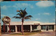 1955 Howley's Restaurant No 2 South Dixie Hwy South Palm Beach FL postcard view