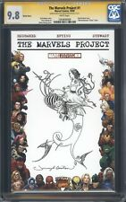 THE MARVELS PROJECT #1 CGC 9.8 SS / Cursed Pirate Girl sketch by Jeremy Bastian!