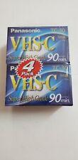 Panasonic VHS-C Super High Grade 90 Minute Compact Videocassette TC-30 BRAND NEW