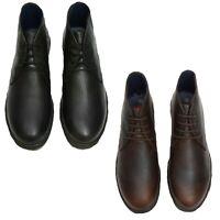 Nicholas Deakins Kids School Shoes Boys Lace Up Black Junior Childrens Trainers