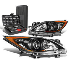 For 2010 2013 Mazda 3 Blackamber Signal Projector Headlight Head Lamptool Box Fits Mazda 3