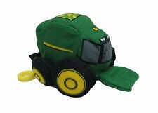 """NEW John Deere 4"""" Take-Along Plush Toy Combine with Clip, Ages 3+, (LP64417C)"""