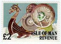 (I.B) Elizabeth II Revenue : Isle of Man £2