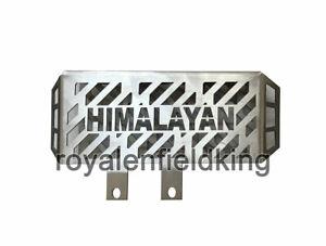 Royal Enfield Himalayan BS4 Radiator Guard Stainless Steel