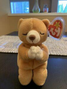 Ty 1998 Beanie Baby Bear RARE HOPE BEAR 1999.