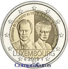 2 Euros Conmemorativos LUXEMBURGO 2019 *Duquesa Carlota* Sin Circular